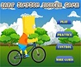 Bart Simpson ciclista